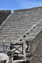 Roman Theater in pompeii Royalty Free Stock Image