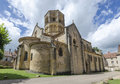 Romanesque church Stock Photo