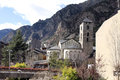 Romanesque church andorra la vella st esteve Royalty Free Stock Photography