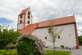 Romanesque church of Bad Neustadt an der Saale Royalty Free Stock Photo