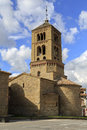 Romanesque church of santa eugenia de berga catalonia spain built in the eleventh century Royalty Free Stock Photos