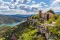The Romanesque church of Santa Maria de Siurana Royalty Free Stock Photo