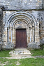 Romanesque Door Royalty Free Stock Photography