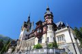 Romania peles castle in muntenia region old building in sinaia prahova county Stock Photo