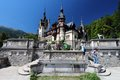 Romania tourism sinaia august people visit peles castle on august in sinaia the castle was completed in it is ranked Royalty Free Stock Image