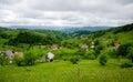 Romania village view of a s photo taken on jun Stock Photos