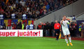 Romania vs hungary s balazs dzsudzsák jubilates after scoring the equalizer against during the uefa euro qualifier match between Stock Images