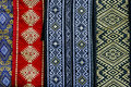 Romanian belts wide and embroidered traditional Royalty Free Stock Photo