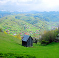 Romanian countryside chalet Royalty Free Stock Images