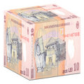 Romanian currency Royalty Free Stock Images
