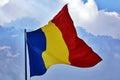 Romanian flag Royalty Free Stock Photo