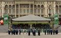 Romanian Gendarmerie Military Music Band Royalty Free Stock Photo