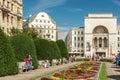 The Romanian National Opera in Timisoara Royalty Free Stock Photo