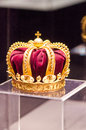 Romanian national treasure crown worn by queen elisabeth of romania worn at the coronation of the charles king at may belonging to Stock Photo