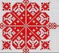 Romanian popular pattern