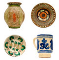 Romanian Pottery Royalty Free Stock Photo