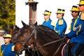 Romanian Royal Guards Royalty Free Stock Photo