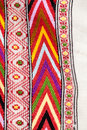 Romanian traditional blouse textures and traditional motifs vintage Royalty Free Stock Photography