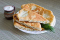 Romanian traditional pie Royalty Free Stock Photography