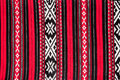 Romanian traditional red carpet detail of theme background Stock Photography