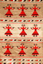 Romanian traditional rug Stock Photos