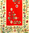 Romanian traditional rug Stock Photo