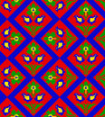 Romanian traditional seamless pattern Stock Photo