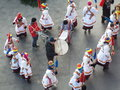 Romanian traditions on the street from bucharest and habits for christmas picture with for christmas day Royalty Free Stock Photos