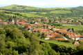 A romanian village with huge history Royalty Free Stock Image
