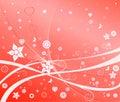 Romantic background, vector illustration Stock Photos