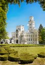Romantic Castle Hluboka Landmark Fairytale Attraction Royalty Free Stock Photo