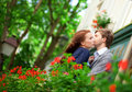 Romantic couple together Royalty Free Stock Photo