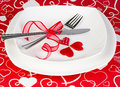 Romantic diner Royalty Free Stock Photo