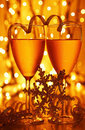 Romantic holiday celebration Royalty Free Stock Image