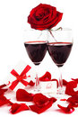 Romantic holiday celebration Stock Photography