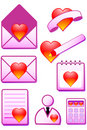 Romantic  icon Royalty Free Stock Photo