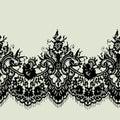 Romantic Lace Seamless Pattern