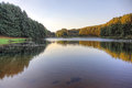 Romantic lake in the mountains Royalty Free Stock Photo