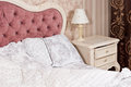 Luxury bedroom interior detail Royalty Free Stock Photo