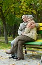 Romantic mature couple Royalty Free Stock Photo