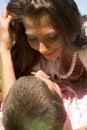 Romantic moment Stock Photos