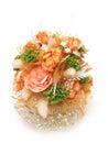 Romantic orange bouquet photo of Stock Photography