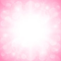 Romantic pink background vector illustration Royalty Free Stock Image