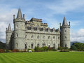 Romantic Scottish castle Royalty Free Stock Photo