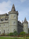Romantic Scottish castle Royalty Free Stock Photo