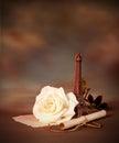 Romantic still life Royalty Free Stock Photo