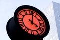 Romantic street clock Royalty Free Stock Photo