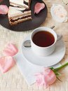 Romantic tea Royalty Free Stock Image