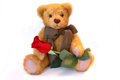 Romantic Teddy Stock Photo