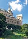 Romantic towers of Bojnice castle, Slovakia